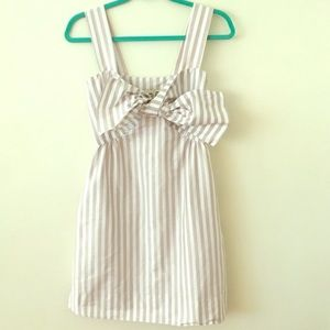 S.E.A. New York Pinstripe Dress Small